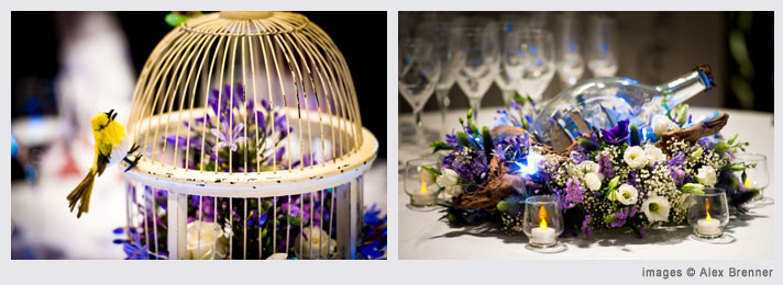 English National Opera table arrangements